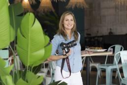 headshot of food photographer